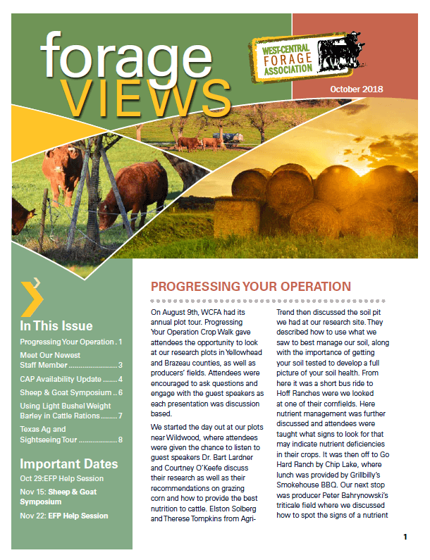 Forage Views Oct 2018 Cover.png